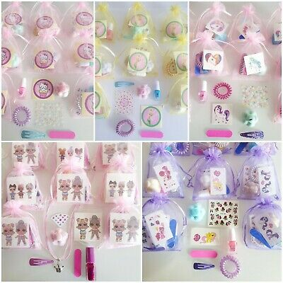 £2.95 • Buy Girls Pre Filled Pamper Party Gift Bags Nails Birthday Sleepover See Options