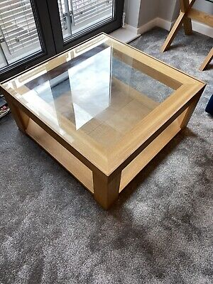 £70 • Buy Marks And Spencer's Square Wooden Oak Coffee Table