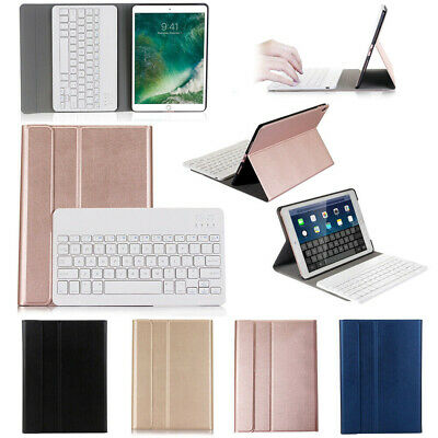AU45.14 • Buy For IPad 5/6th Gen Air 1/2 Pro 9.7  /10.5  Wireless Keyboard Leather Case Cover