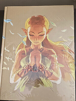 AU124.99 • Buy The Legend Of Zelda: Breath Of The Wild Hardcover  Guide New And Sealed English