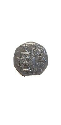 50 Pence Coin 2006 VC Victoria Cross  • 1.50£