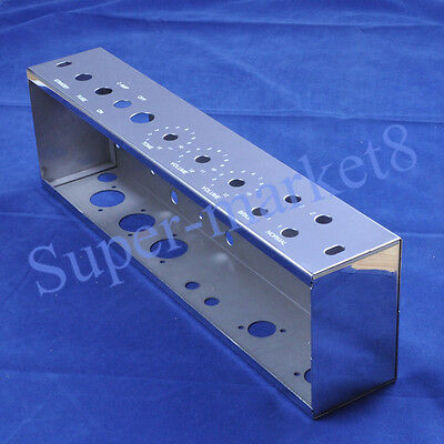 AU76.26 • Buy 5E3 Tweed Deluxe Chrome Plated Stainless Steel Chassis For DIY Guitar Tube Amp