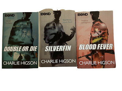 £4.99 • Buy Charlie Higson Books Double Or Die, Silverfin, Blood Fever