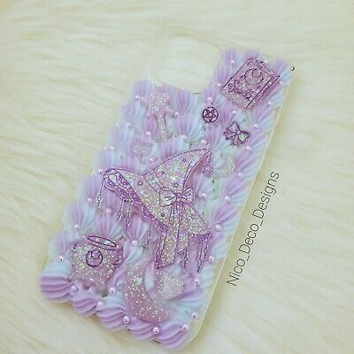 Pastel Goth Kawaii Witch Decoden Phone Case For IPhone 12 Pro Max • 25.33£