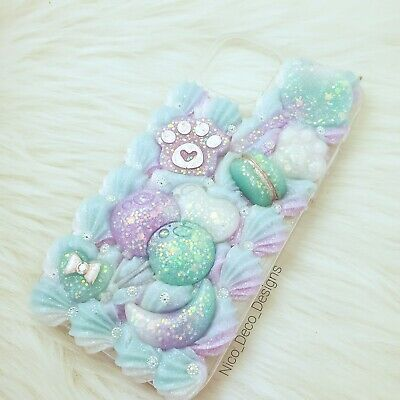 Yume Kawaii Pastel Paws And Sweets Decoden Phone Case IPhone 12 / 12 Pro • 26.77£