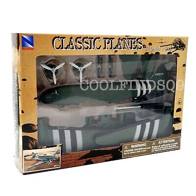 DC-3 Douglas US Airliner And Transport Aircraft New-Ray Classic 1:48 Model Kit • 11.96£