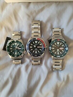 $ CDN877.24 • Buy Seiko Automatic Refurbished Watches Lot Of 3