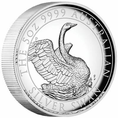 AU599.99 • Buy 2020 $8 Australian Swan 5oz High Relief Silver Proof Coin @Special