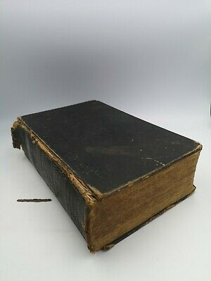 £59.95 • Buy Antique British And Foreign Bible Society Holy Bible Eyre & Spottiswoode 1840