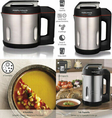 Morphy Richards Saute And Soup Maker 501014 Brushed Stainless Steel Soup...  • 91.39£