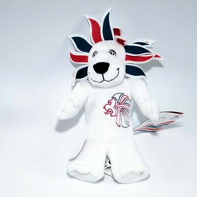 London 2012 Olympic Mascot Pride The Lion Soft Toy With Tag • 10£