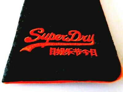 SUPERDRY Designer Spectacle Glasses Sunglasses Case - BRAND NEW, Slim Soft Pouch • 4.98£