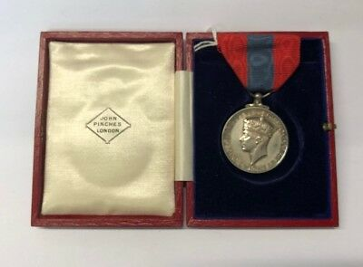 £175 • Buy Imperial Service Medal To Henry Hartley, In Box Of Issue (John Pinches)