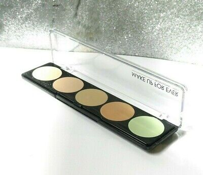 £27.99 • Buy MAKE UP FOR EVER 5 Camouflage Cream Palette No 1 Concealer Palette New Unboxed