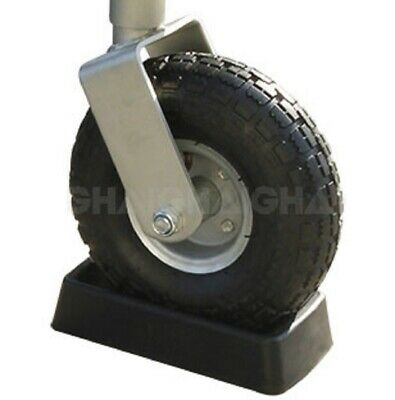 AU36 • Buy Jockey Wheel Receiver Suits For 8  & 10  Solid & Pneumatic Tyres Moulded Rubber