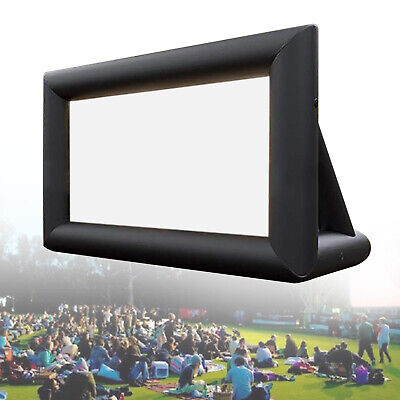 AU293.03 • Buy  Inflatable Movie Screen Outdoor Projector Screen Cinema Lightweight + Blower AU