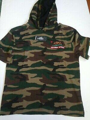 $12 • Buy EIGHTY Men's Clothing Camouflage  With Hooti  Shirt Size M