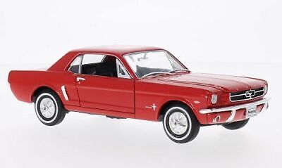 £18.95 • Buy 1964 FORD MUSTANG COUPE In Red 1/24 Scale Model By WELLY