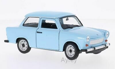 £17.99 • Buy TRABANT 601 In Blue 1/24 Scale Model By WELLY