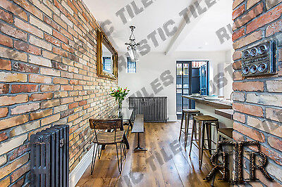 £22.50 • Buy Brick Slips Cladding Wall Tiles Old Featured Wall Rustic Tiles YELLOW