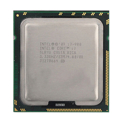 $ CDN59.24 • Buy Intel Xeon I7-975 I7-980 I7-980X LGA1366 CPU Processor