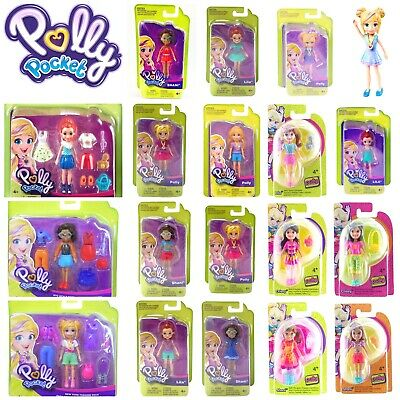 £7.49 • Buy POLLY POCKET ACTIVE POSE DOLLS 9cm TRENDY OUTFIT ACCESSORIES SHANI LILA NICOLAS
