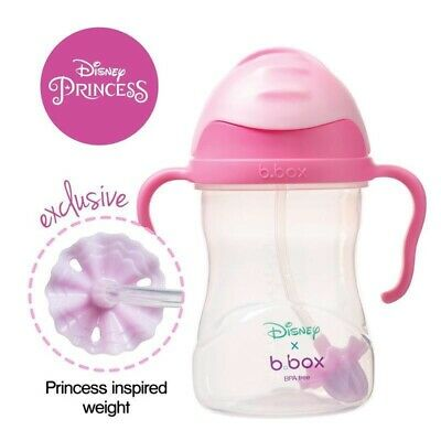 £15 • Buy B.box Sippy Cup With Weighted Straw 360 Degree Disney Aurora.limited Edition