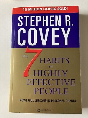AU8.91 • Buy 7 Habits Of Highly Effective People By Stephen R. Covey (2004, Paperback)
