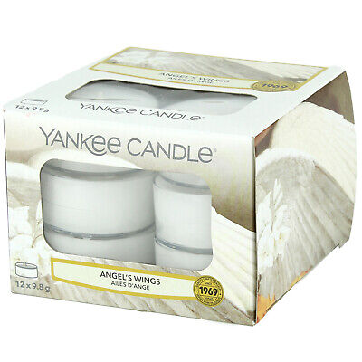 £7.99 • Buy Yankee Candle 12-24 Scented Wax Tealights 6 Hour Burn Time Angel Wings Fragrance