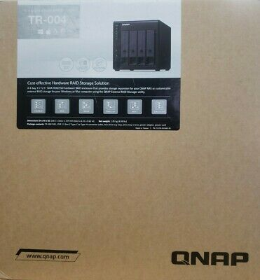 AU336 • Buy QNAP TR-004 4 Bay USB Type-C Direct Attached Storage With Hardware RAID