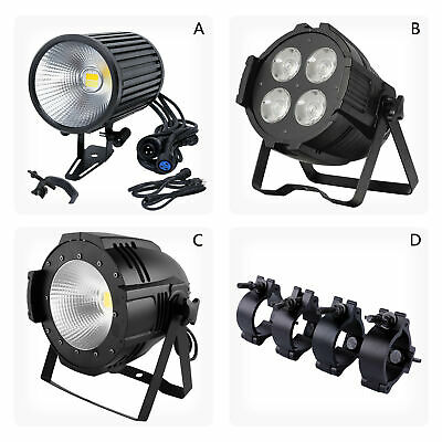 Option 200W COB LED Stage Light DMX Warm Cool Nature White Or Stage Clamps Hook • 246.49£