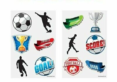 £0.99 • Buy 12 X FOOTBALL Temporary Tattoos Boys Childrens Kids Party Loot Bag Fillers