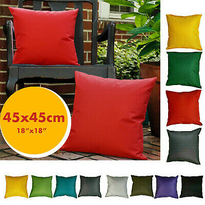 £7.49 • Buy Outdoor Cushions Waterproof Garden Furniture Cushion Pad Filled Square 45 X 45cm