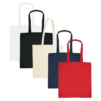 £2.25 • Buy Cotton Tote Bag - Bag For Life - Good For Printing - Many Colour - Wholesale