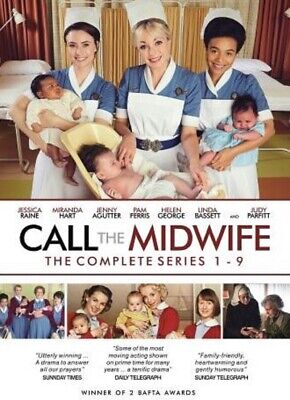Call The Midwife - Complete Collection Series 1-9 DVD Box Set  • 52.95£