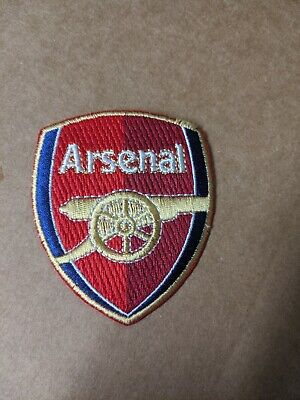 £4.65 • Buy Arsenal Soccer Team Patch Iron On Embroidery New 2 Inch
