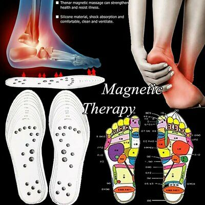 £3.37 • Buy Work Boots Orthotic Foot Arch Support Heel Shoe Inserts Gel Massaging Insoles