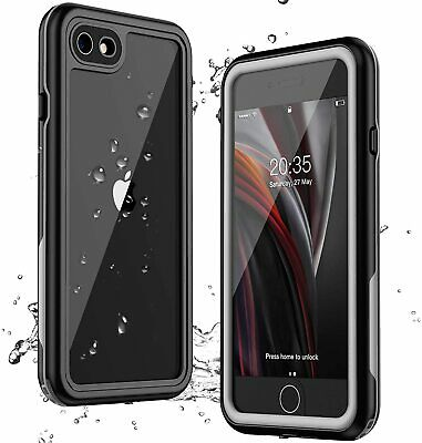 AU28.99 • Buy Slim Armour Waterproof Screen Protector For Iphone SE 2020 Case 8 7 6 Plus Cover