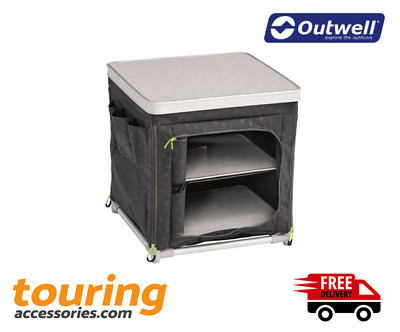 Outwell Tinos Storage Cupboard Camping Storage Unit New For 2020 - Home - Garden • 62.99£