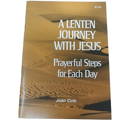 AU14.35 • Buy A Lenten Journey With Jesus Prayerful Steps For Each Day By Joan Cole