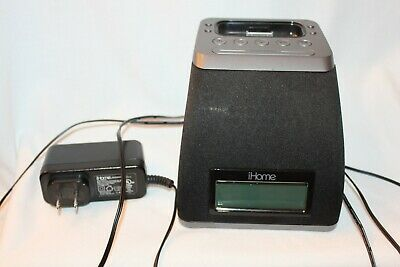 AU28.84 • Buy IHOME IP21 30-PIN IPod IPhone Alarm Clock Speaker Dock C4R