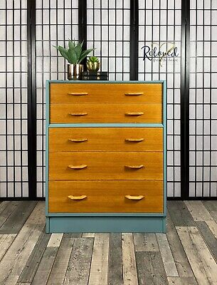 £345 • Buy G Plan E Gomme Chest Of 5 Drawers