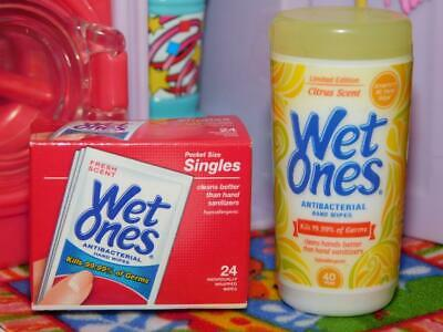 $ CDN14.99 • Buy Zuru Mini Brands Wet Ones Citrus Scented & Singles Hand Wipes Fits Barbie Dolls