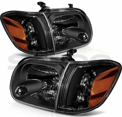 $150.12 • Buy Headlights For Toyota Tundra 05-06 Sequoia 07 Headlamps Assembly Replace Pair