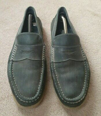 £10 • Buy Men's Bally Green Suede Genuine Leather Shoes Size UK 10.5