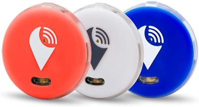 AU28.71 • Buy TrackR 3 Pack Pixel Red White Blue, Item Tracker IOS/Android/Alexa Skill