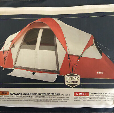AU214.16 • Buy Wenzel Bristlecone 8 Person Modified Dome Tent New