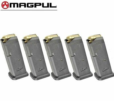 $75 • Buy FIVE MAGPUL Fits GLOCK 17 9mm 10 Round MAGAZINES 801 BLK *FAST SHIP*!!