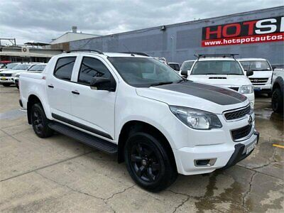 AU36950 • Buy 2015 Holden Colorado RG Z71 White Automatic A Utility