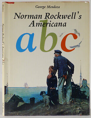 $ CDN283.88 • Buy Norman Rockwell Signed Americana A B C 1975 Trade Edition George Mendoza